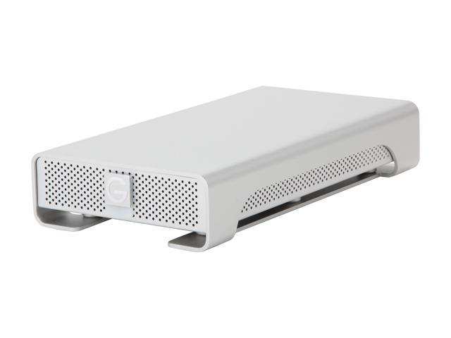 G-Technology G-Drive(Gen 4) 2TB 7200 RPM Professional High-Performance EXternal Hard Drive eSATA/ USB 2.0/ Firewire800 Silver (0G00203)