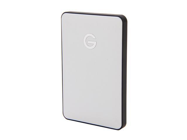 "G-Technology G-DRIVE mobile 750GB USB 2.0 2.5"" External Hard Drive Silver"