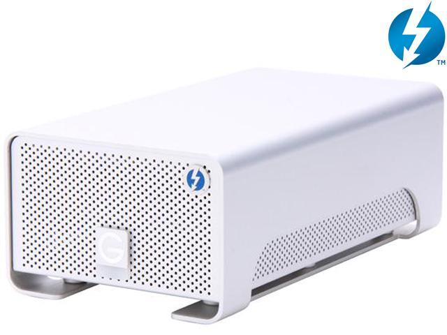 G-Technology G-RAID with Thunderbolt 0G02272 8TB 2 x Thunderbolt Silver Professional Portable Dual-Drive Storage System