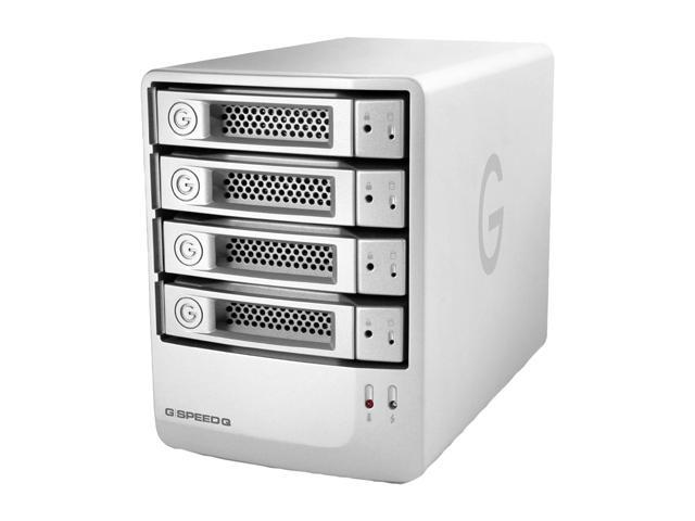 G-Technology G-SPEED Q 16TB 7200 RPM USB 2.0 / 2 x Firewire800 / eSATA Highly Versatile Quad Interface 4-Bay RAID Storage Model 0G02319