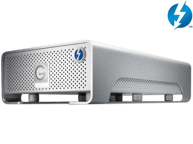 G-Technology G-DRIVE PRO 2TB 7200 RPM 2 x Thunderbolt Mac Storage Model 0G02828(GDRPTHNB20001BDB)