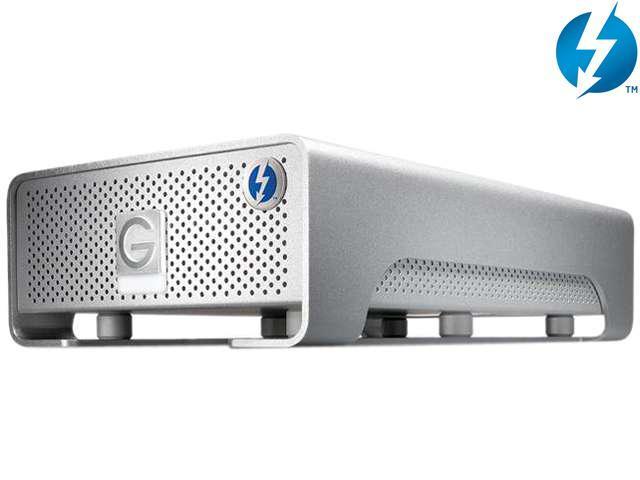 G-Technology G-DRIVE PRO 4TB 7200 RPM 2 x Thunderbolt Mac Storage Model 0G02832(GDRPTHNB40001BDB)