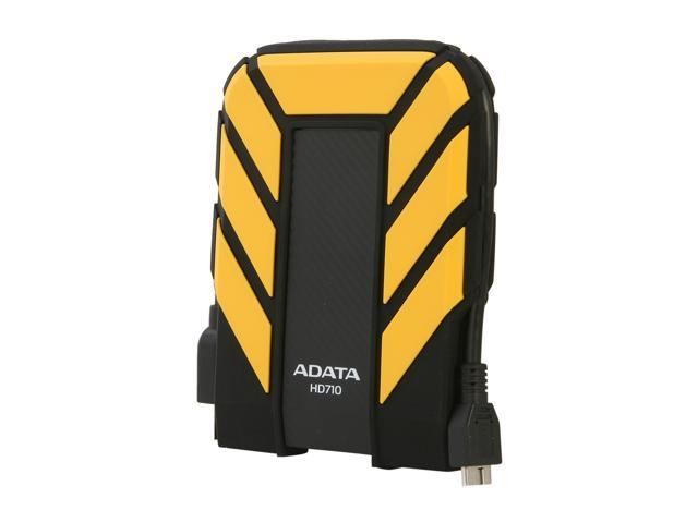 ADATA 500GB HD710 Waterproof / Dustproof / Shock-Resistant USB 3.0 External Hard Drive USB 3.0 Model AHD710-500GU3-CYL Yellow