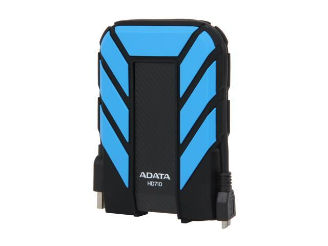 ADATA 500GB HD710 Waterproof / Dustproof / Shock-Resistant USB 3.0 External Hard Drive USB 3.0 Model AHD710-500GU3-CBL Blue