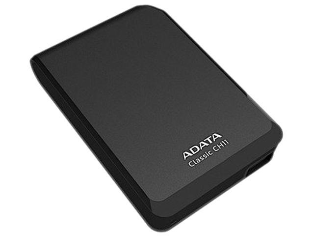 Adata CH11 ACH11-750GU3-CBK 750 GB 2.5' External Hard Drive - Black