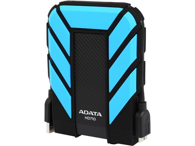 ADATA 2TB HD710 Waterproof / Dustproof / Shock-Resistant USB 3.0 External Hard Drive USB 3.0 Model AHD710-2TU3-CBL Blue