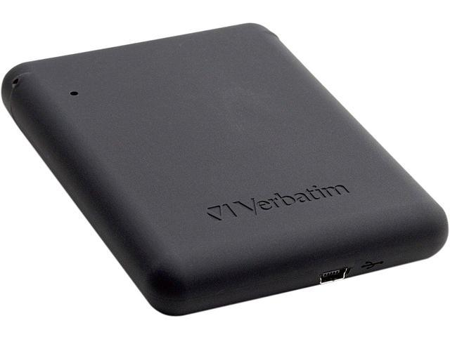Verbatim 500GB Titan XS Portable Hard Drive USB 3.0 Model 97398 Black