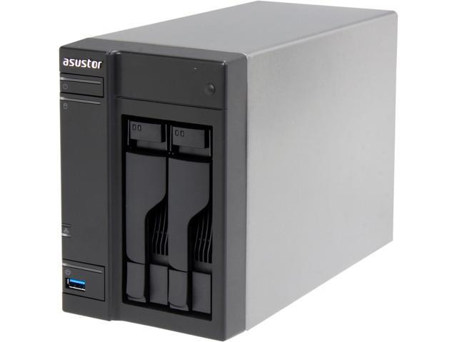 Asustor AS-202T Diskless System Network Storage