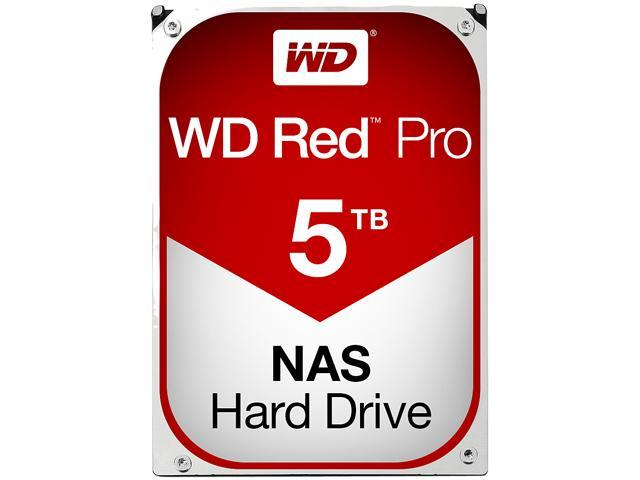 WD Red Pro 5TB NAS Desktop Hard Disk Drive - Intellipower SATA 6 Gb/s 128 MB Cache 3.5 Inch - WD5001FFWX