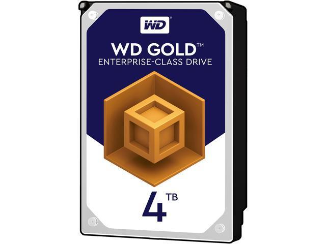 WD Gold 4TB Enterprise Class Hard Disk Drive - 7200 RPM Class SATA 6Gb/s 128MB Cache 3.5 Inch - WD4002FYYZ