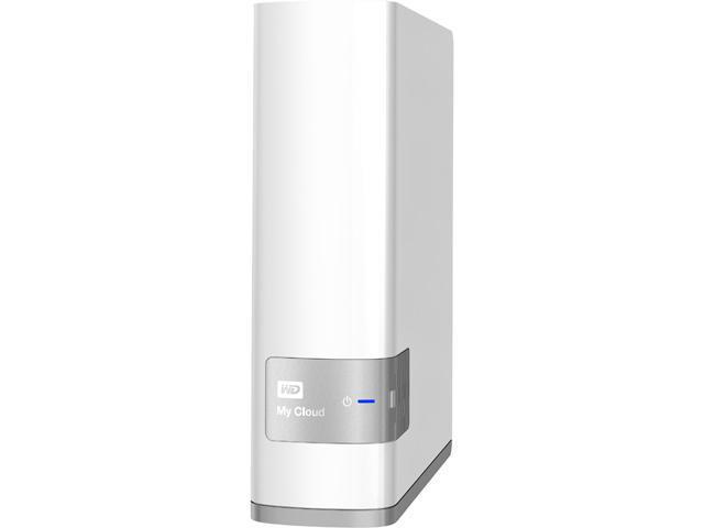WD My Cloud (8 TB) Personal Cloud Storage (NAS), media server, file sync