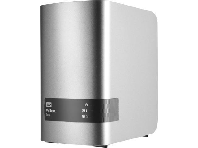 WD 16TB My Book Duo Desktop RAID External Hard Drive USB 3.0 - WDBLWE0160JCH-NESN