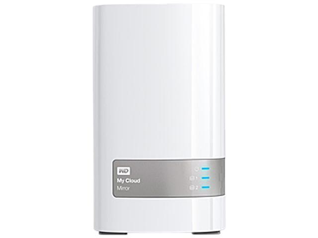 WD My Cloud Mirror 16TB My Cloud Mirror 16TB Personal Cloud Storage WDBWVZ0160JWT-NESN White