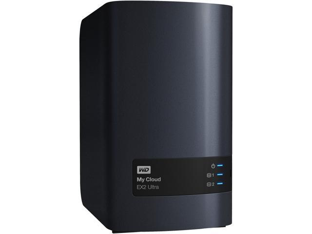2TB My Cloud Surveillance Series 10-Channel NAS with WD Purple drives and Milestone ARCUS Surveillance software WDBVBZ0020JCH-NESN