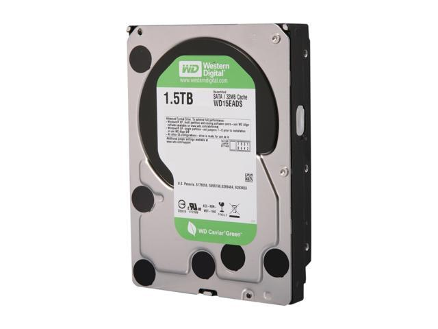 WD WD Green WD15EADS 1.5TB 32MB Cache SATA 3.0Gb/s 3.5