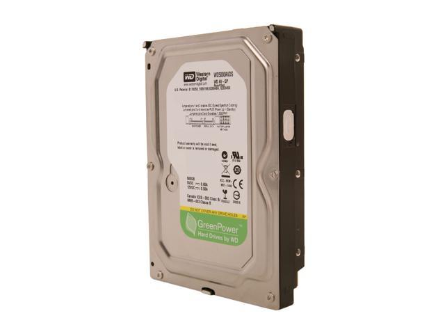 "WD AV-GP WD5000AVDS-FR 500GB 32MB Cache SATA 3.0Gb/s 3.5"" Internal AV Hard Drive Bare Drive"