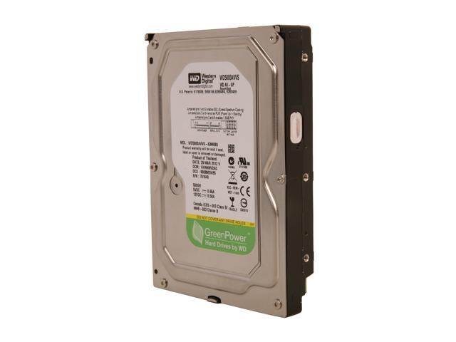 "WD AV-GP WD5000AVVS-FR 500GB 8MB Cache SATA 3.0Gb/s 3.5"" Internal AV Hard Drive Bare Drive"