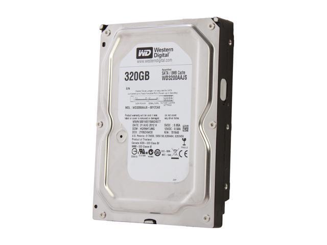 """WD Blue WD3200AAJS-FR 320GB 7200 RPM 8MB Cache SATA 3.0Gb/s 3.5"""" Internal Hard Drive Bare Drive"""