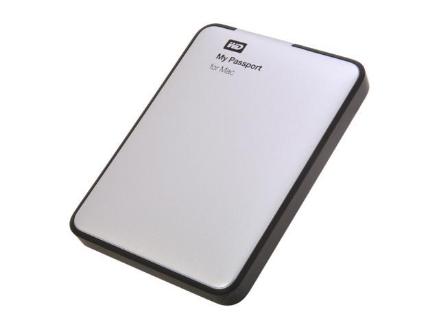 "WD My Passport for Mac 500GB 2.5"" USB 2.0 Portable Hard Drive Model WDBL1D5000ABK-NESN"
