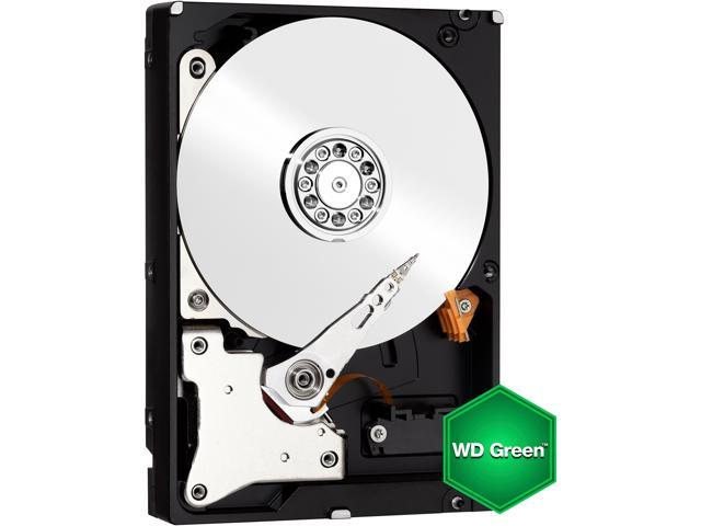 "WD Green WD10EZRX 1TB IntelliPower 64MB Cache SATA 6.0Gb/s 3.5"" Internal Hard Drive Bare Drive - OEM"