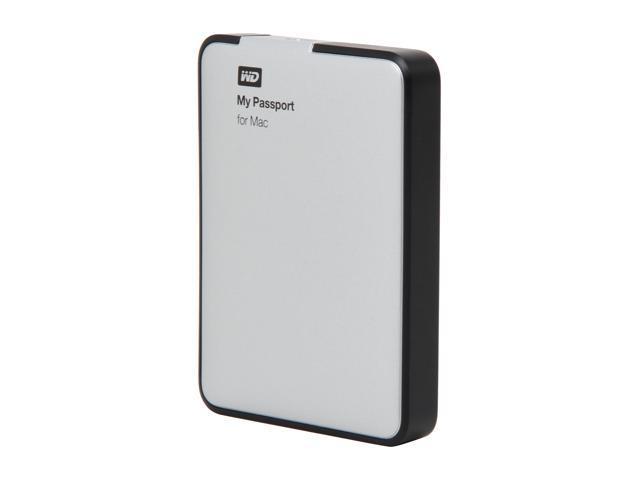 "WD My Passport for Mac 1TB 2.5"" USB 2.0 Portable Hard Drive Model WDBBXV0010BBK-NESN"