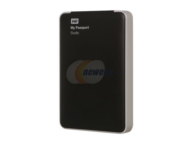 WD My Passport Studio 500GB Portable Hard Drive