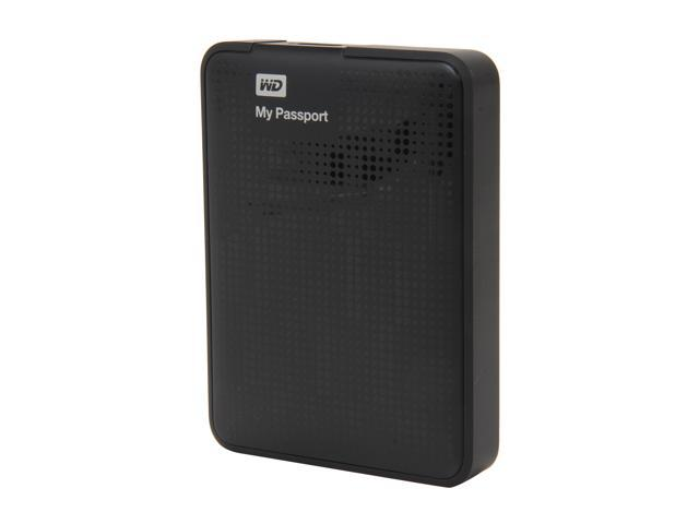 WD 1.5TB My Passport Portable Hard Drive USB 3.0 Model WDBY8L0015BBK-NESN Black