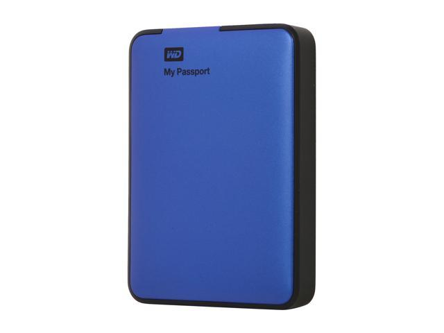 WD 1TB My Passport External Hard Drive USB 3.0 Model WDBBEP0010BBL-NESN Blue
