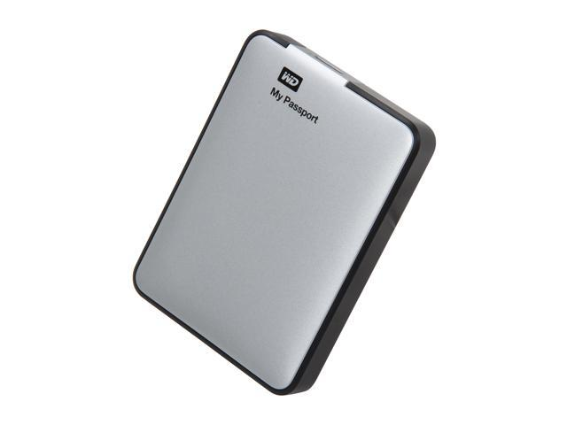 WD 1TB My Passport External Hard Drive USB 3.0 Model WDBBEP0010BSL-NESN Silver