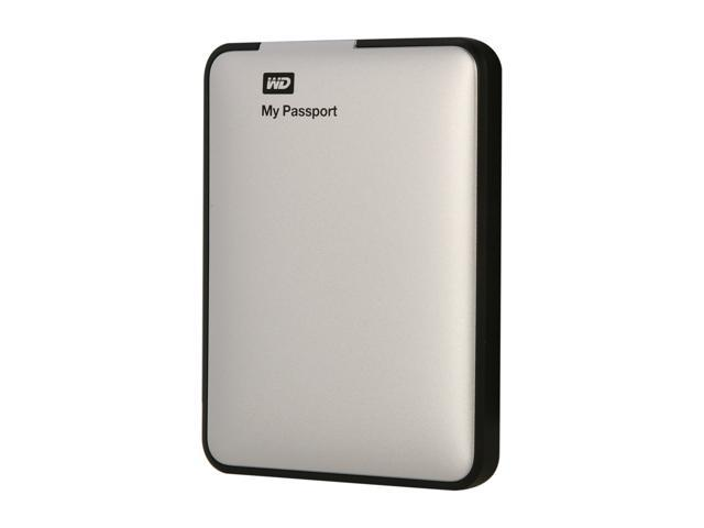WD 500GB My Passport External Hard Drive USB 3.0 Model WDBKXH5000ASL-NESN Silver