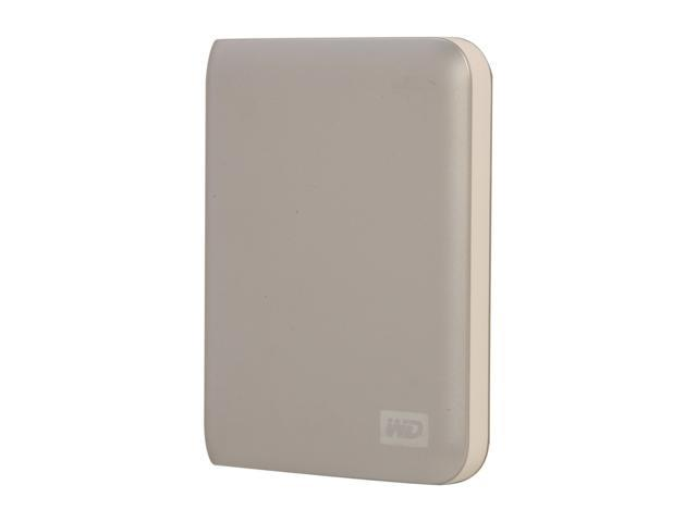 "WD My Passport Essential 500GB USB 2.0 2.5"" Portable External Hard Drive Cool Silver"