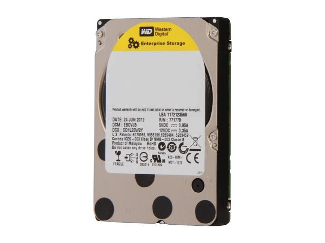 "Western Digital XE WD6001BKHG 600GB 10000 RPM 32MB Cache SAS 6Gb/s 2.5"" Internal Enterprise Hard Drive Bare Drive"