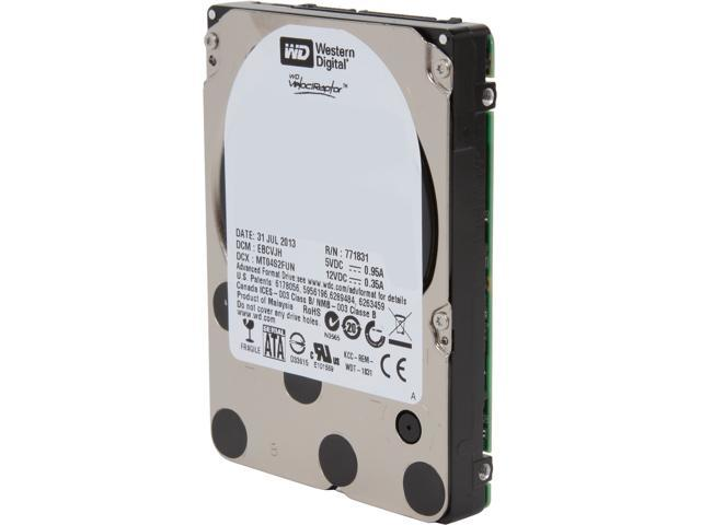 "Western Digital WD VelociRaptor WD2500BHTZ 250GB 10000 RPM 64MB Cache SATA 6.0Gb/s 2.5"" Internal Enterprise Hard Drive Bare ..."