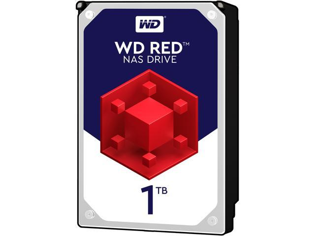 WD Red 1TB NAS Hard Disk Drive - 5400 RPM Class SATA 6Gb/s 64MB Cache 3.5 Inch - WD10EFRX