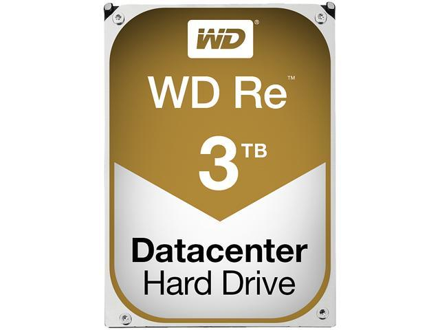 WD Re 3TB Datacenter Capacity Hard Disk Drive - 7200 RPM Class SATA 6Gb/s 64MB Cache 3.5 inch WD3000FYYZ