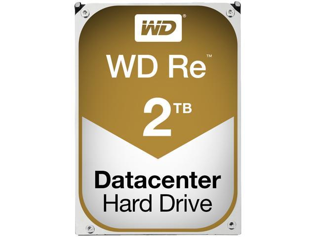 "WD RE WD2000FYYZ 2TB 7200 RPM 64MB Cache SATA 6.0Gb/s 3.5"" Enterprise Internal Hard Drive Bare Drive"
