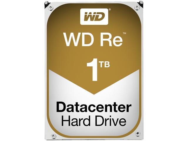 WD Re 1TB Datacenter Capacity Hard Disk Drive - 7200 RPM Class SAS 6Gb/s 32MB Cache 3.5 inch WD1001FYYG