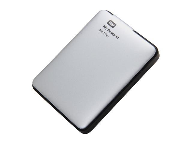 "WD My Passport for Mac 500GB 2.5"" USB 3.0 Portable Hard Drive Model WDBGCH5000ASL-NESN"