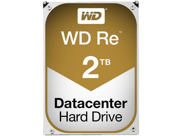 "WD WD RE WD200MFYYZ 2TB 7200 RPM 64MB Cache SATA 6.0Gb/s 3.5"" Internal Hard Drive Bare Drive"