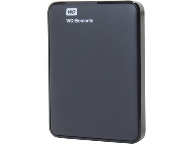 WD 500GB Elements Portable External Hard Drive - USB 3.0 - WDBUZG5000ABK-NESN