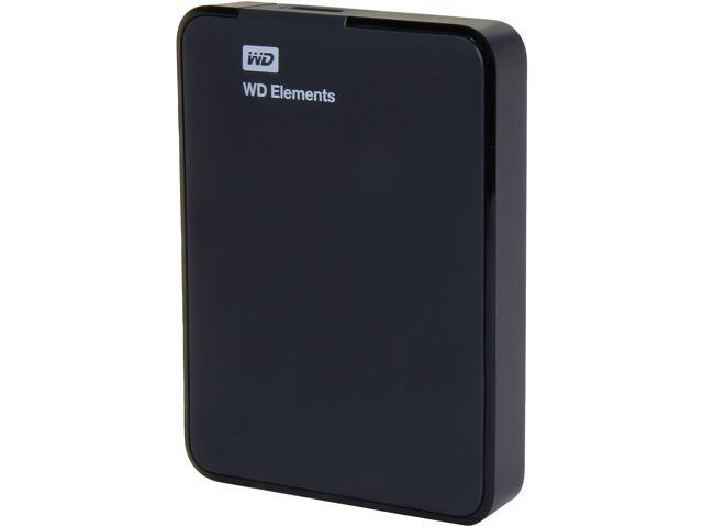WD 1.5TB Elements Portable External Hard Drive - USB 3.0 - WDBU6Y0015BBK-NESN