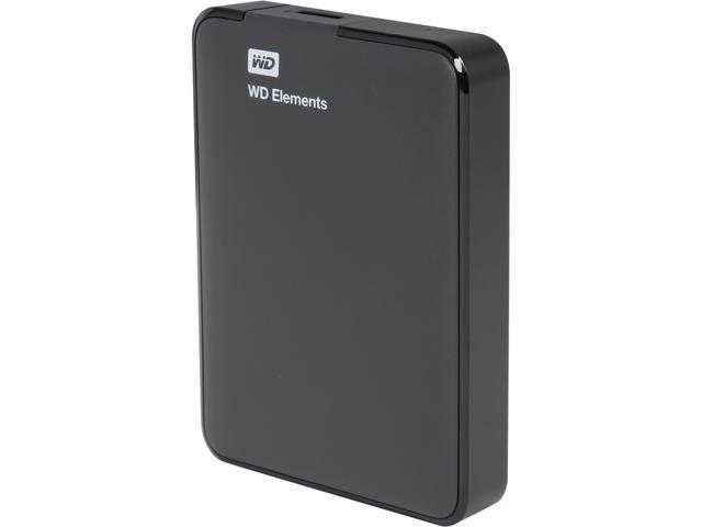 WD 2TB Elements Portable External Hard Drive - USB 3.0 - WDBU6Y0020BBK-NESN