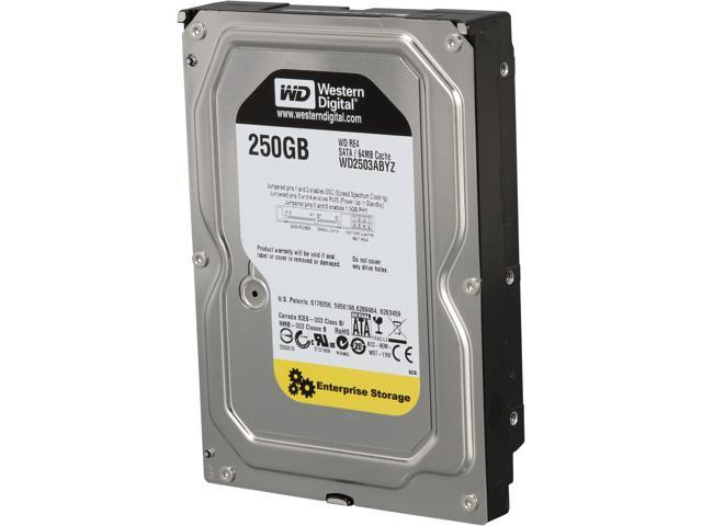 WD RE WD2503ABYZ 250GB 7200 RPM 64MB Cache SATA 6.0Gb/s 3.5