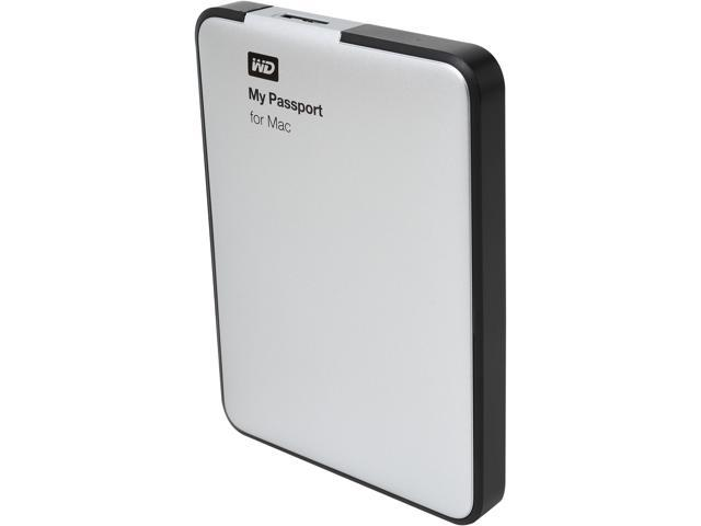 WD My Passport for Mac 1TB USB 3.0 Mac Storage Model WDBLUZ0010BSL-NESN
