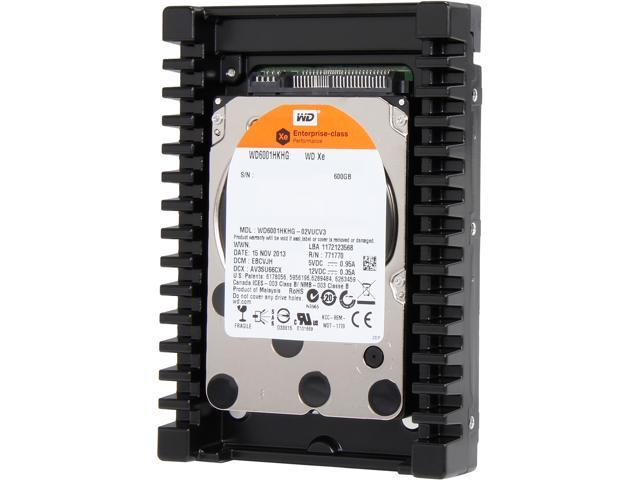 "WD Xe WD6001HKHG 600GB 10000 RPM 32MB Cache SAS 6Gb/s 3.5"" Internal Hard Drive Bare Drive"