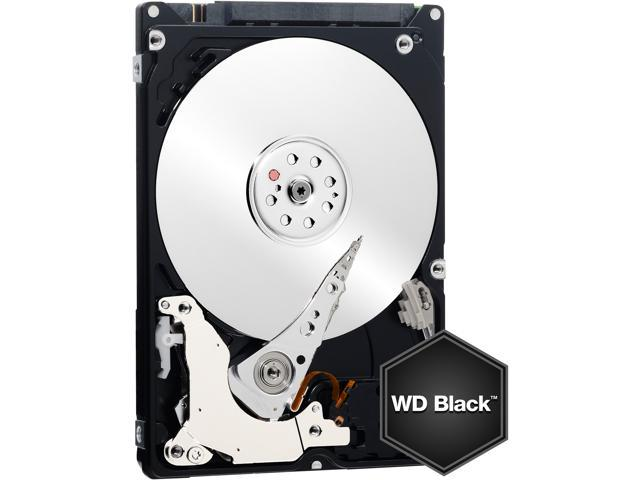 WD Black 750GB Performance Mobile Hard Disk Drive - 7200 RPM SATA 6Gb/s 16MB Cache 2.5 Inch - WD7500BPKX