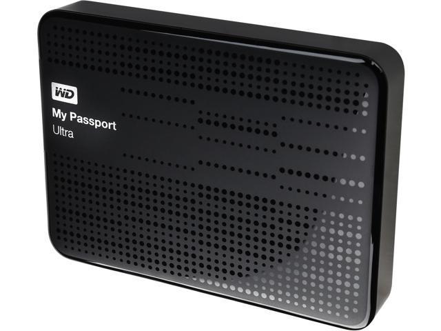 WD My Passport Ultra 2TB USB 3.0 Portable Hard Drive WDBMWV0020BBK-NESN Black