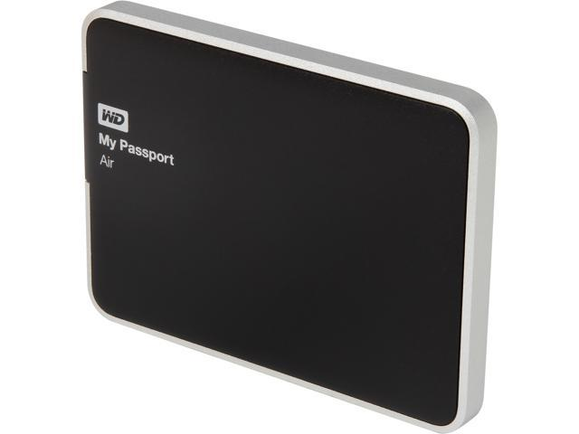 WD My Passport Air 1TB USB 3.0 All Metal Ultra-slim External Portable Hard Drive Storage Model WDBWDG0010BAL-NESN