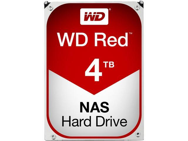 WD Red 4TB NAS Hard Disk Drive - 5400 RPM Class SATA 6Gb/s ...