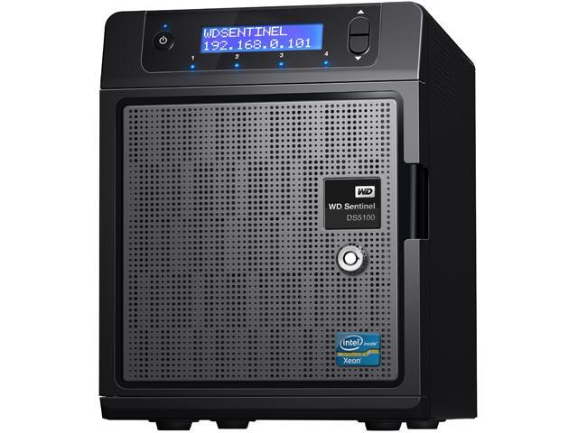 WD Sentinel DS5100 4TB Ultra-compact Storage Plus Server w/ Win. Server 2012 R2 Ess - Retail